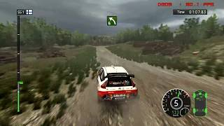 WRC FIA WORLD RALLY CHAMPIONSHIP 2010 PC Gameplay in 1080P