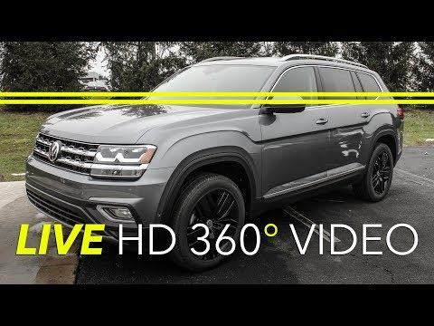 2018 Volkswagen Atlas SEL PREMIUM - GRAY Doylestown, Philadelphia, Warrington, Collegeville 18V1174