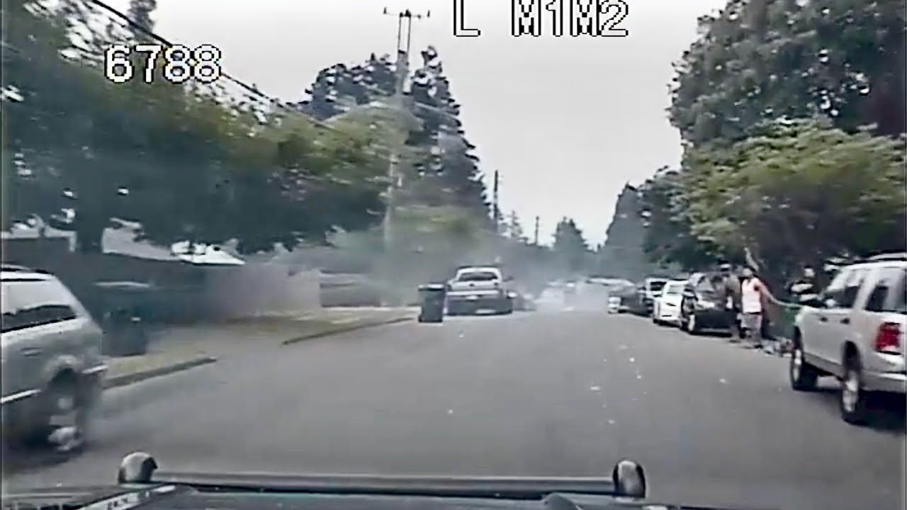 High Speed Pursuit of Fleeing Charger Through Residential Neighborhood