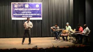 Dr.Deepak Khedekar  Performing At Foundation Day Program LTMMC 2016