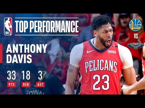 Anthony Davis, Pelicans handle Warriors in Game 3, pull series to 2-1