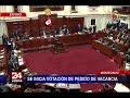 Pleno del Congreso de la República declara no procedente pedido de vacancia presidencial