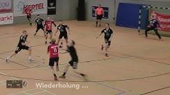 Handballregeln: progressive Bestrafung (Gelbe Karte)