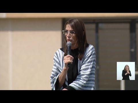 María Eugenia Bielsa pidió que empecemos a pensar en pesos y no en dólares