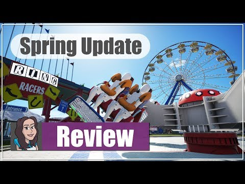 Planet Coaster: Spring Update 1.2 - Part 1 - First look at the update!