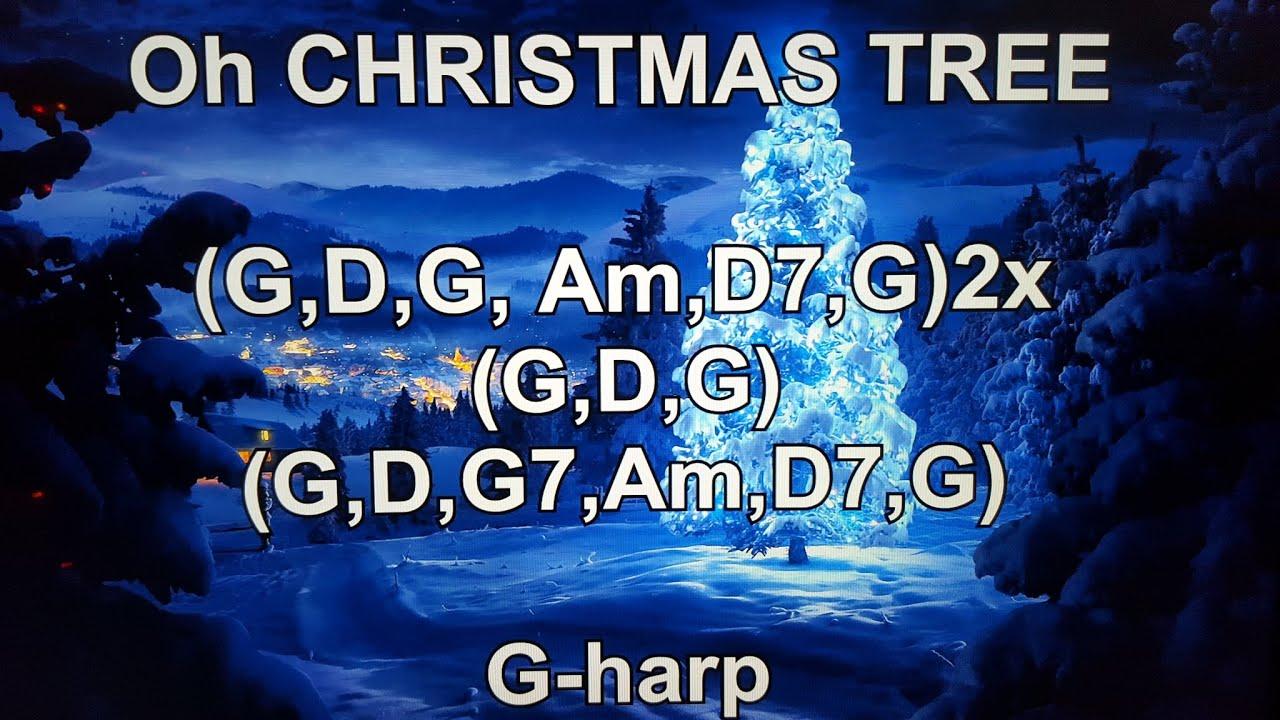 O CHRISTMAS TREE - Lyrics - Chords - NO AUDIO !!! - YouTube