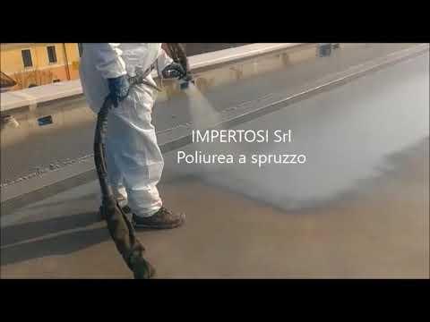 Impermeabilizzare Un Terrazzo In Cemento Con Poliurea A Spruzzo
