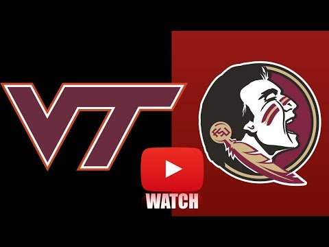Virginia Tech vs Florida State Week 1 Full Game Highlights (HD)
