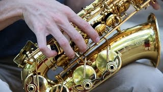 Rhapsody For Baritone Saxophone By, Mark Watters. Performed by Zachary Lewis