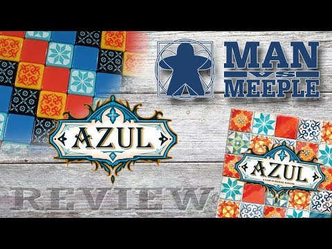 Azul (Plan B Games) Review by Man Vs Meeple