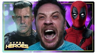 The Venom Trailer Debuts, Deadpool 2 Teases X-Force - Hyper Heroes