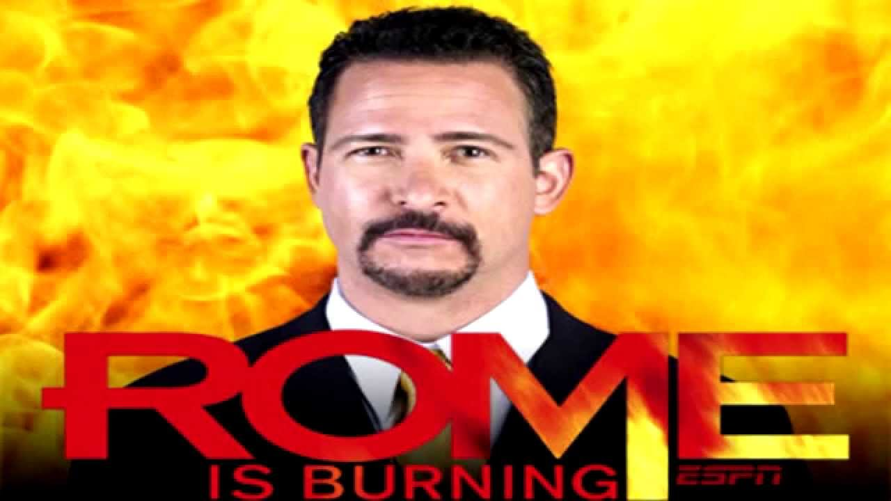 Image result for jim rome is burning