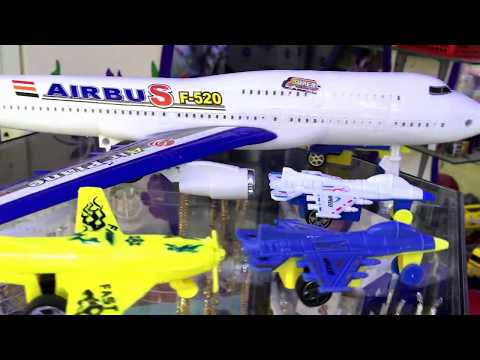 AIRBUS Toy Bump and Fighter Jets Toy Planes for children | Airbus & Toy Fighter Jets Toy