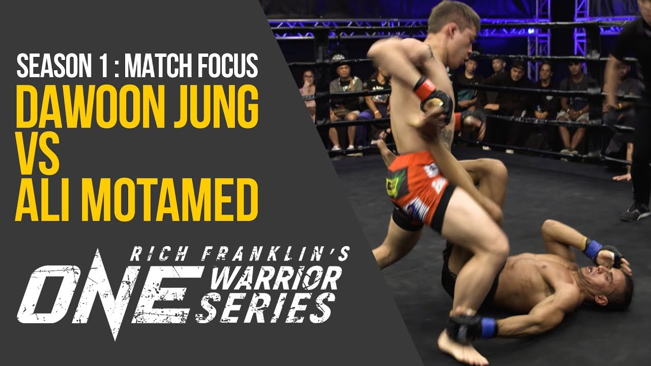Rich Franklin's ONE Warrior Series | Season 1 | Match Focus: Dawoon Jung vs. Ali Motamed