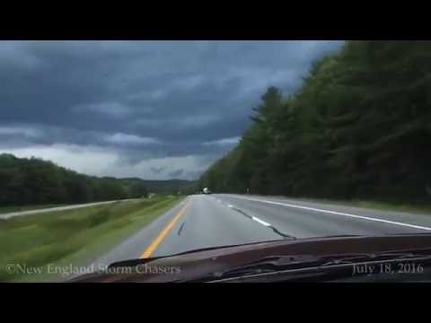 Severe Thunderstorms w/ three intercepts 7/18/2016 | Derry, NH