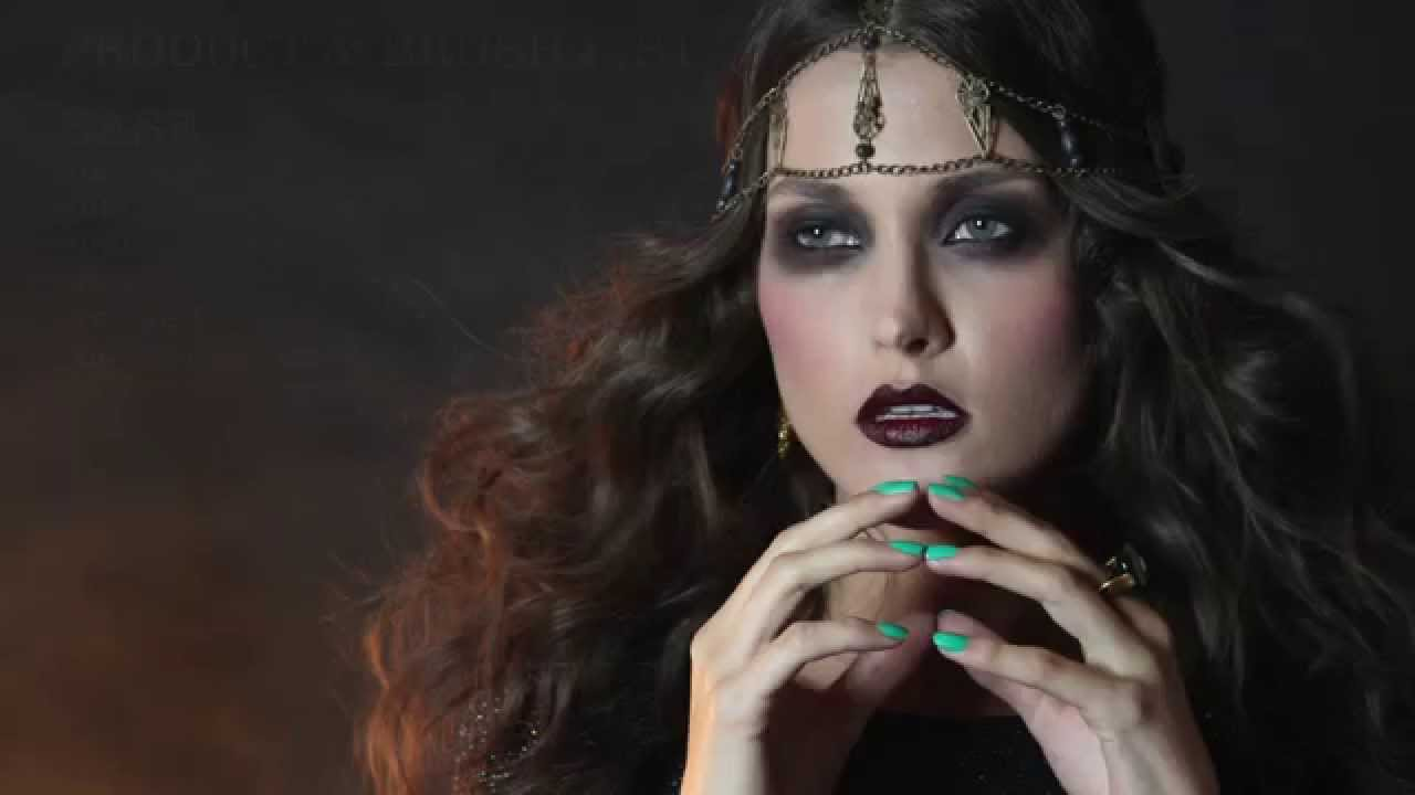 Fortune Teller Halloween Makeup Tutorial Youtube