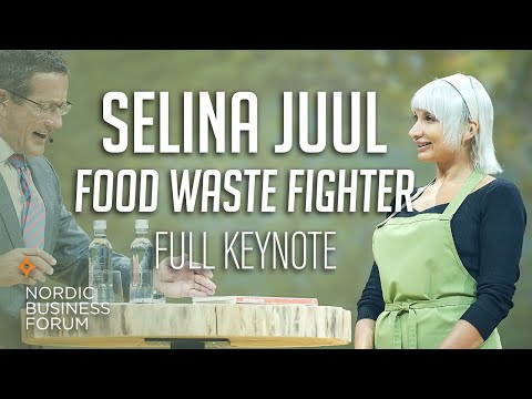 Selina Juul: Food Waste Fighter [Nordic Business Forum 2017]
