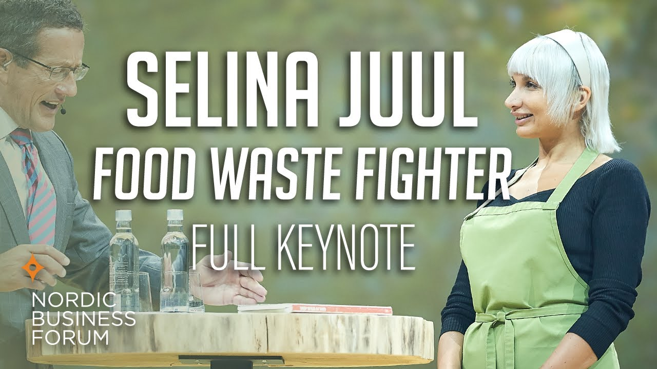 Selina Juul: Food Waste Fighter [Nordic Business Forum 2017] - YouTube
