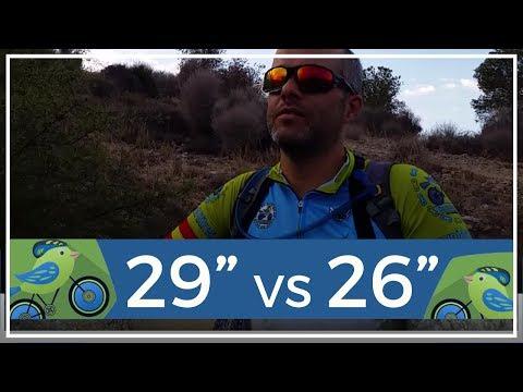 29 pulgadas vs 26 pulgadas impresiones de un ciclista con experiencia en ambos tallajes