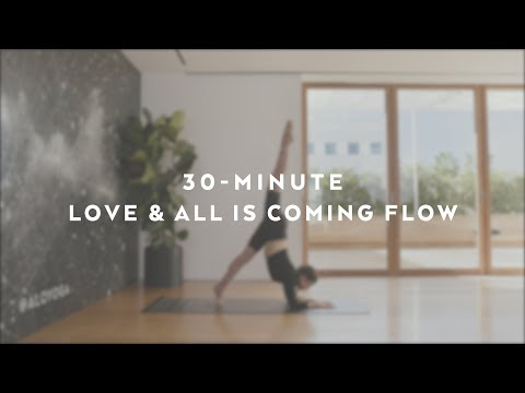 30-Minute Love & All Is Coming Flow with Talia Sutra