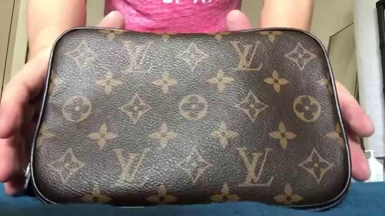 573fe43af0 Louis Vuitton Pouch PM Macassar