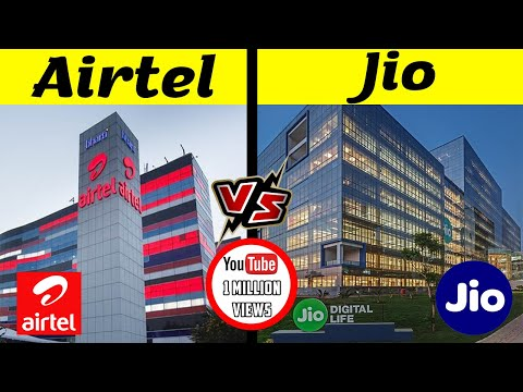 Airtel VS Jio Company Comparison | Which is the Best Mobile Network in India [2021]