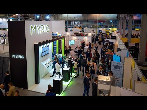 MyRig @ Blockchain & Bitcoin Conference Moscow 2017
