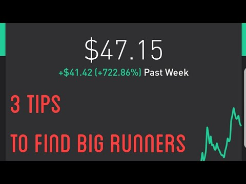 RKDA 300% Runner | How To Find Big Runners