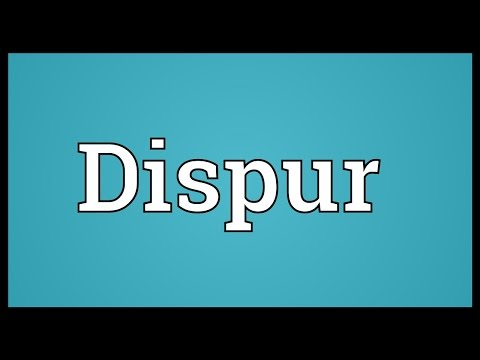 Dispur Meaning