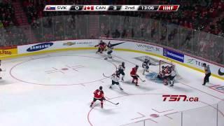 Canada vs Slovakia  26.12.2014  2015 IIHF World Junior Championship HD
