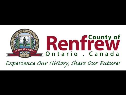 County of Renfrew County Council April 29th 2015.