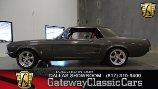 1967 Mustang Stock #349-DFW Gateway Classic Cars of Dallas