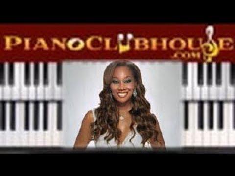 🎹 How to play EVEN ME  Yolanda Adamseasy gospel piano tutorial