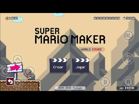 SMMWE 2.0.0 B3 En Android Review | Super Mario Maker World Engine