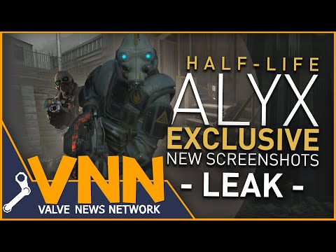 Half-Life: Alyx - I Have 9 Exclusive Screenshots