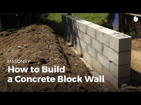 how-to-build-a-concrete-wall-|-diy-projects