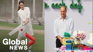 Prince William and Kate play cricket, attend birthday party in Lahore