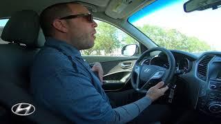 Test Drive 2018 Hyundai Santa Fe SE