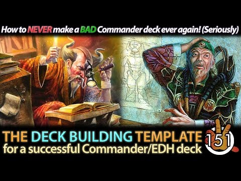 The Commander Deck Building Template | The Command Zone #151 | Magic: the Gathering Podcast
