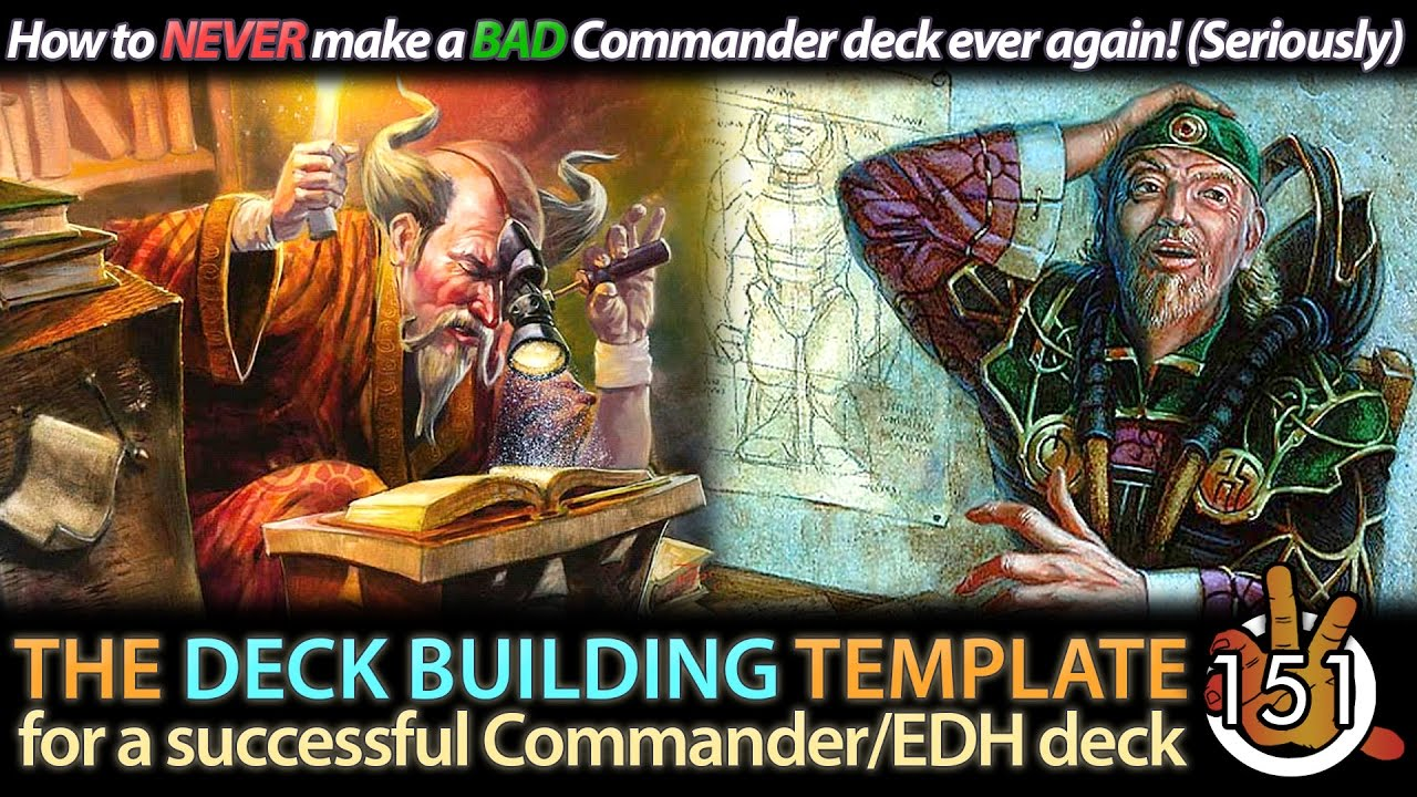 The Commander Deck Building Template | #151 - Collected Company