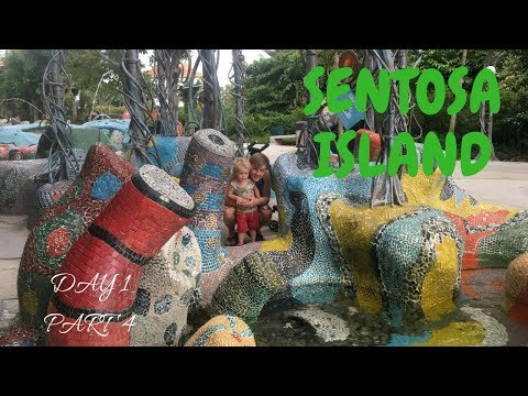 Seeing the Merlion, giant candy and more   SINGAPORE Travel   SENTOSA Island