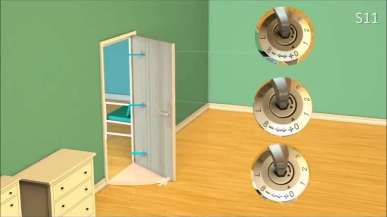笠源 - 自動關門器 - 強度調整示範 #3 - YouTube