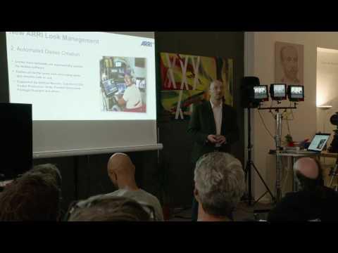 ALEXA SXT overview, ARRI workshop in Paris, December 2016 (around 43 minutes)