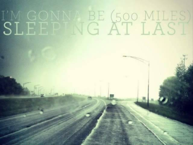 Sleeping At Last - I\'m Gonna Be (500 Miles) Chords - Chordify