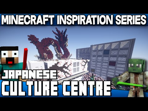 Minecraft - Japanese Culture Centre - Keralis Inspiration Series