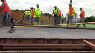 Manafort Bridge Concrete Pouring
