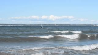 Windsurf Ålsgårde lidt mere surf 4. juni 2013