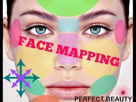 Face Mapping The Chinese Science Of What Your Acne Is Telling You - Chinese face map for acne