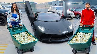 I Bought A Lamborghini Using Only $1 Bills ...