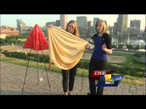 Ava explains how weather balloons are used to predict weather